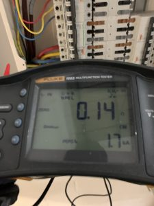 Electrical installations measurements Zs